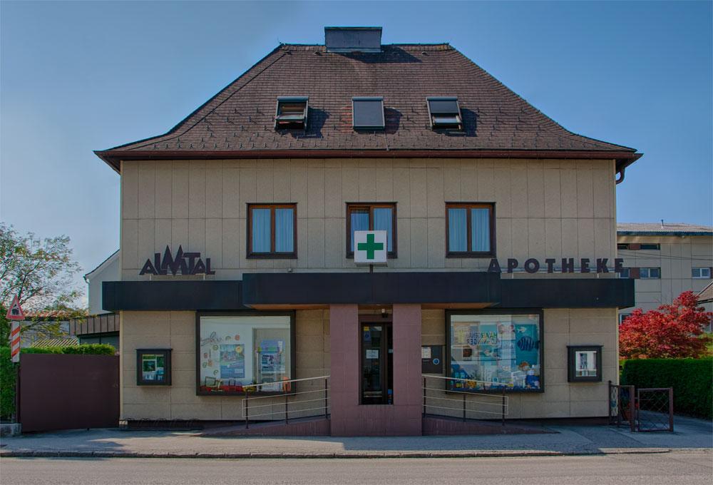 Almtalapothek Vorchdorf Aussenansicht